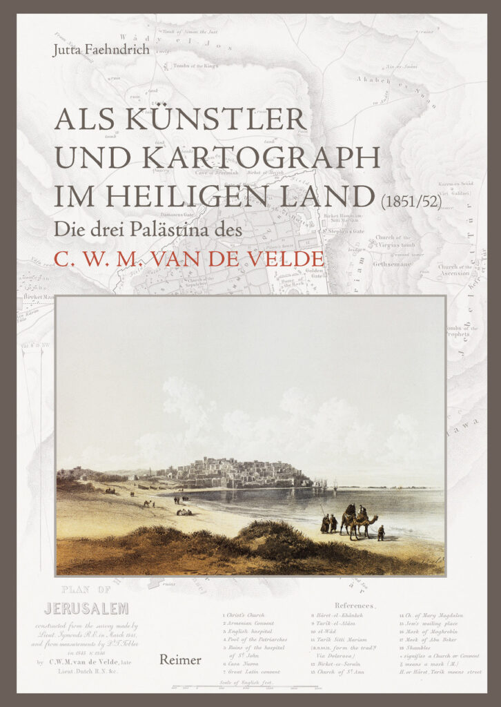 Als Künstler und Kartograph im Heiligen Land (book cover)