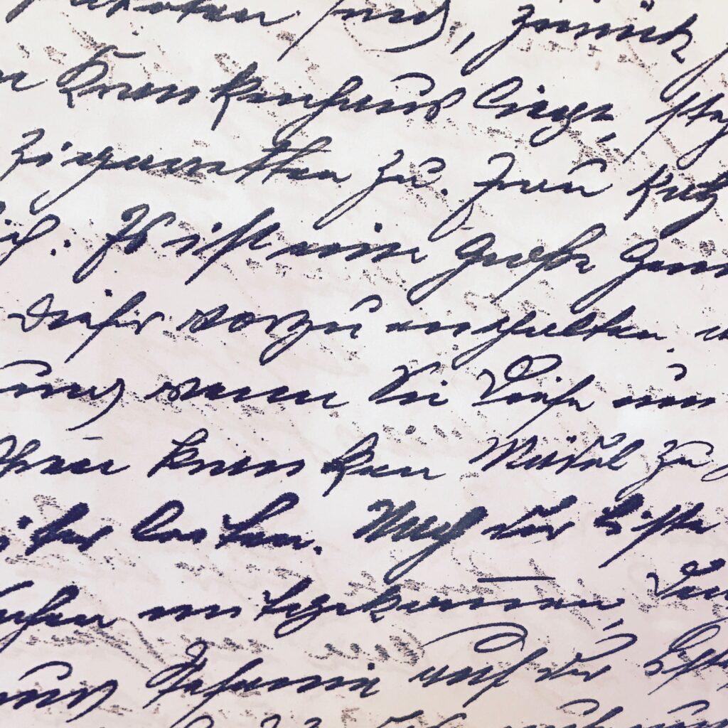 Deciphering Sütterlin and Kurrent German script
